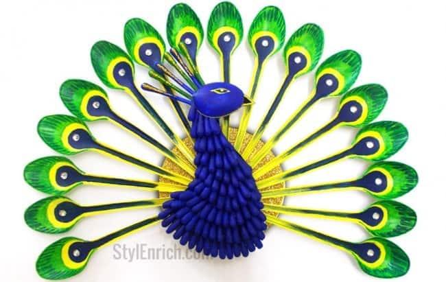 DIY peacock