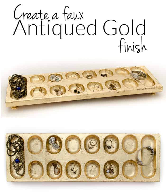 Faux-Antique-Gold-Finish