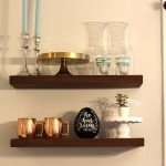 DIY West Elm Floating Shelves