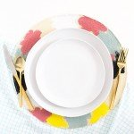 Abstract Painted Placemats