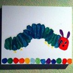 The Very Hungry Caterpillar Art