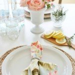 Simple Round Placemats
