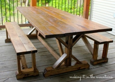 Pottery-Barn-Table-Knockoff-@-making-it-in-the-mountains