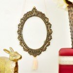 How to Make Your Own Anthropologie Vintage Gold Frame