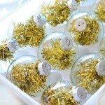 Five-Minute Tinsel Ornaments