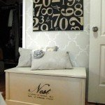 Oversized Numbers Wall Art