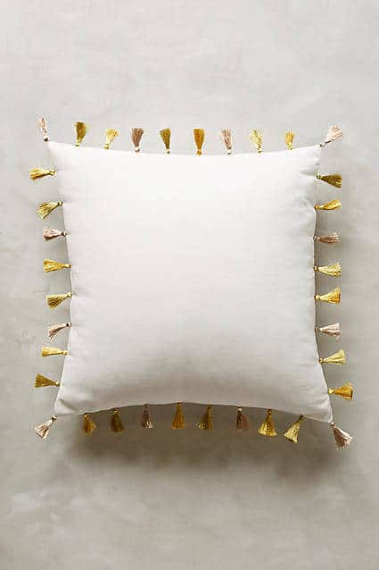 anthro tassel pillow