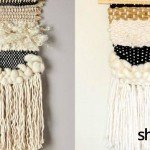 DIY Anthropologie-Inspired Woven Wall Hanging