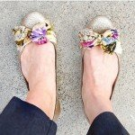 Scarf Bow Ballet Flats