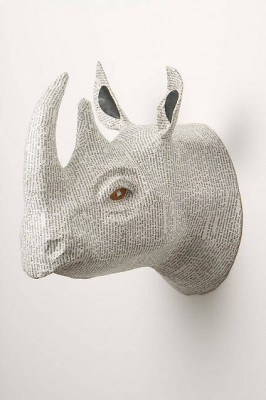 anthropologie taux taxidermy