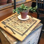 DIY Wood BINGO Tray