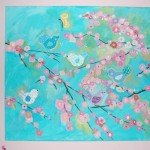 Birds and Branches Wall Canvas