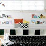 Book Ledge Focal Wall in Nursery