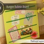 Bungee Bulletin Board for Less Than $10