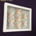 Butterfly Shadow Box Art