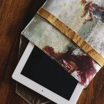 DIY iPad Case from Canvas Artwork