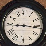 Painted Clock Makeover