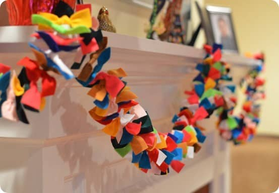 Fun And Festive Felt Garland For All Occasions