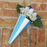 "Styrofoam Cone Wall ""Planter"""
