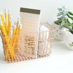 Easy Copper Desk Organizer