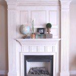 Custom Fireplace and Mantel