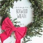 Fresh-from-the-Front-Yard Boxwood Wreath