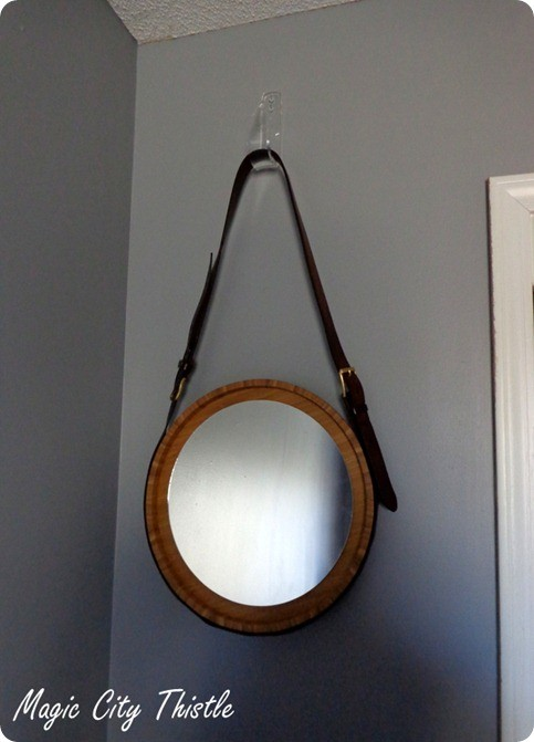 Leather Belt Round Mirror Knockoffdecor Com