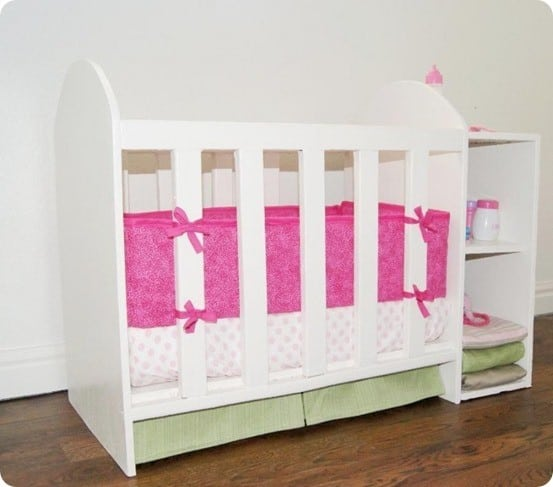 Doll Crib With Changing Table Knockoffdecor Com