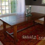 Build Your Own Farmhouse Dining Table