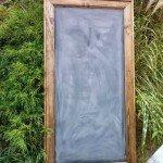 Large Vintage Schoolhouse Framed Chalkboard