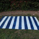 Painted Stripe Outdoor Rug