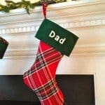 Plaid Christmas Stockings