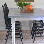 Dining Table Makeover with DIY Zinc Tabletop