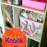 Versatile Dollhouse/Toy Shelf for a Little Girl