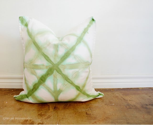 Learn How To Make Your Own Shibori Dyed Cushions