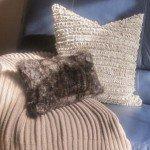 Luxurious No-Sew Faux Fur Pillow