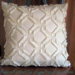 Felt Origami Throw Pillow