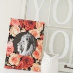 Floral Lion Wall Art