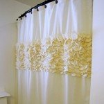 Flower Petal Shower Curtain