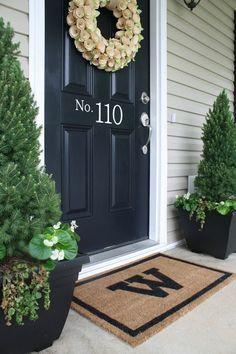 Allow your front porch welcome your guests before they even enter your home!