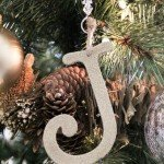 Glitter Letter Ornaments for Only $1