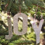 Spell It Out with Glitter Letter Ornaments