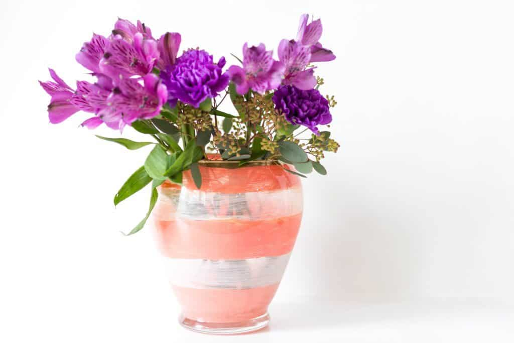 Make Your Own Kate Spade Inspired Vase