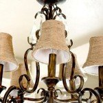 Old Chandy Shades Refabbed with Jute