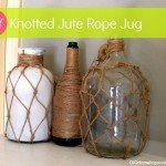 Refab an Old Jar with Jute