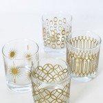 DIY Metallic Print Glassware