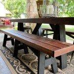 Twenty Buck Outdoor Sawhorse Bench