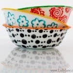 Liven Up a Plain White Bowl with Glass Paint