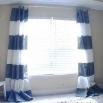 Painted Stripe Curtains