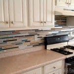 "Painted ""Tile"" Backsplash"